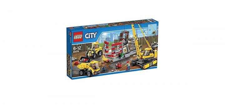 Lego City cantiere, gru e macchine da demolizione