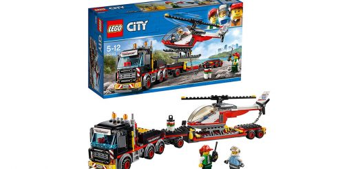 Lego City great vehicles trasportatore carichi pesanti 60183