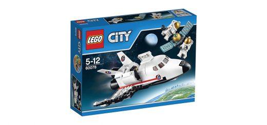 Lego City razzo spaziale