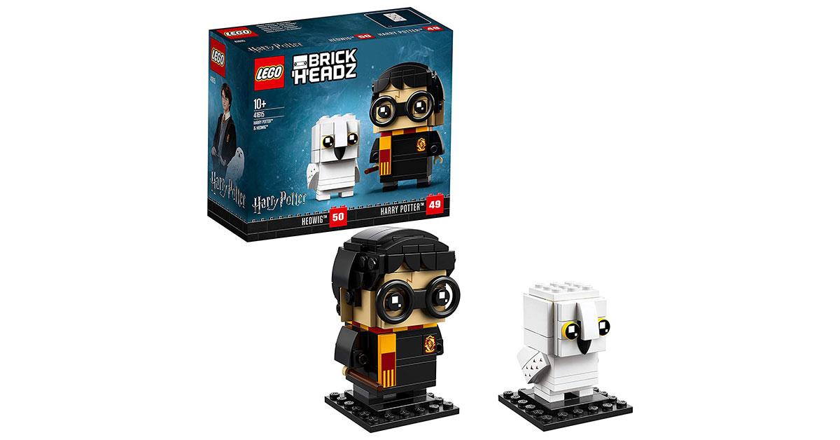 Lego Harry Potter 41615. Brickheadz Harry Potter e Edvige
