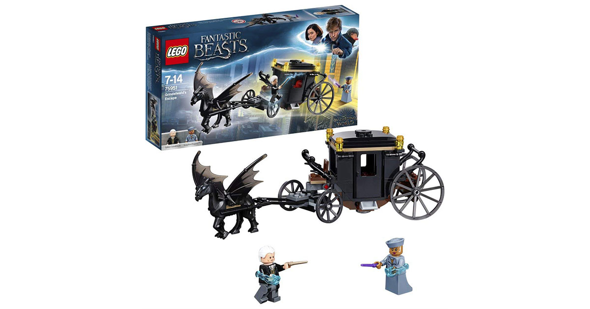 Lego Harry Potter carrozza
