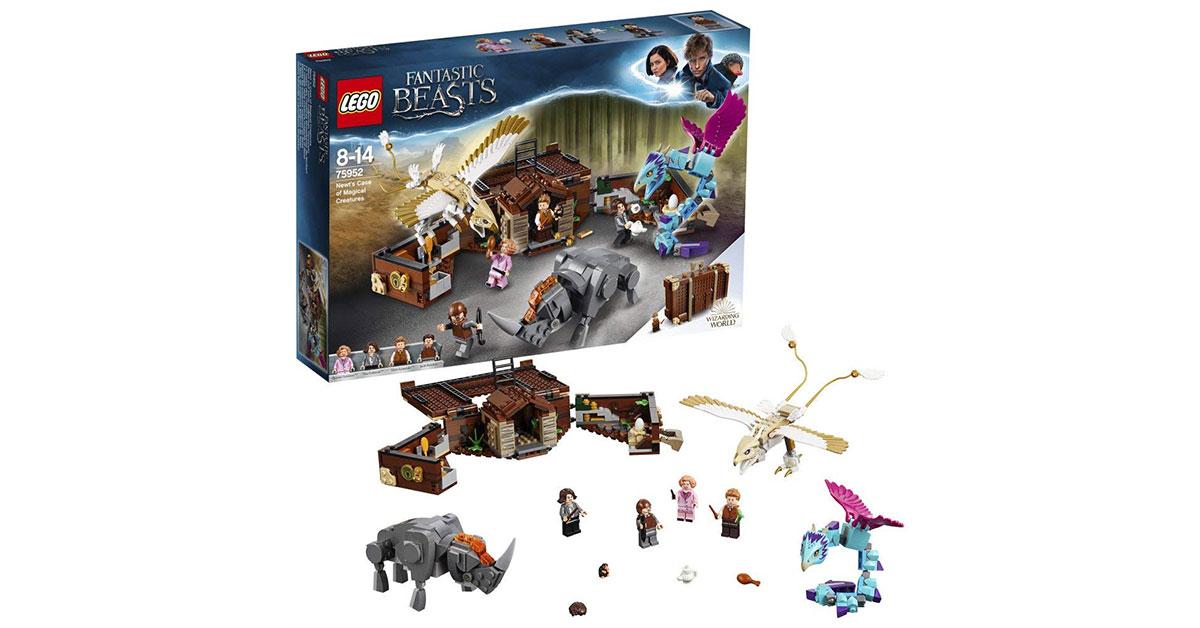 Lego Harry Potter e animali fantastici