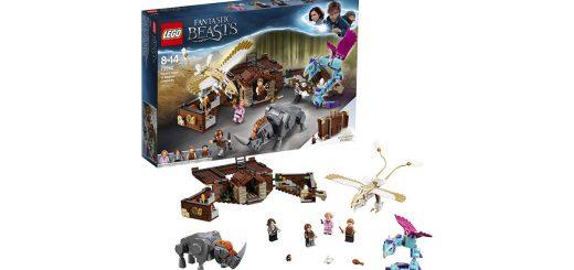 Lego Harry Potter la valigia delle creature magiche