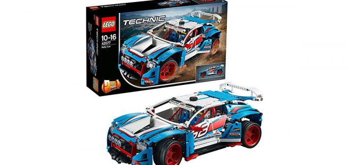 Lego Technic auto da rally