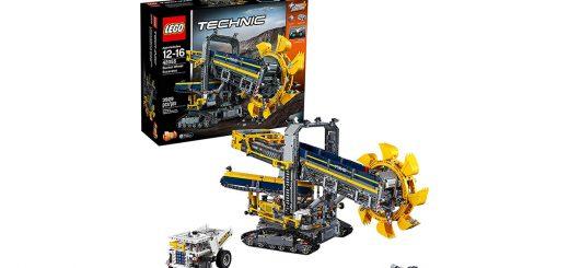 Lego Technic escavatore